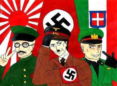 Teh Asix the axis powers by khanghi on deviantart