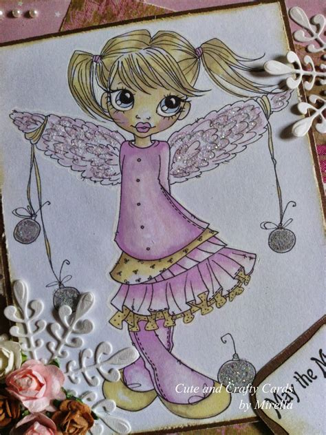 Border Tas Pink Unyu and crafty cards by mirella a new lovely card today