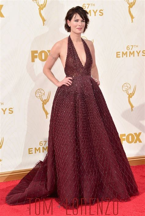 Dress Lena Ij 1 emmys 2015 carpet rundown part 1 tom lorenzo