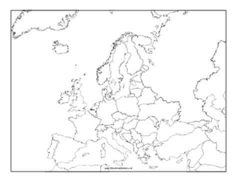 america map blackline master this blackline master features a map of europe free to and print cycle 2 resources