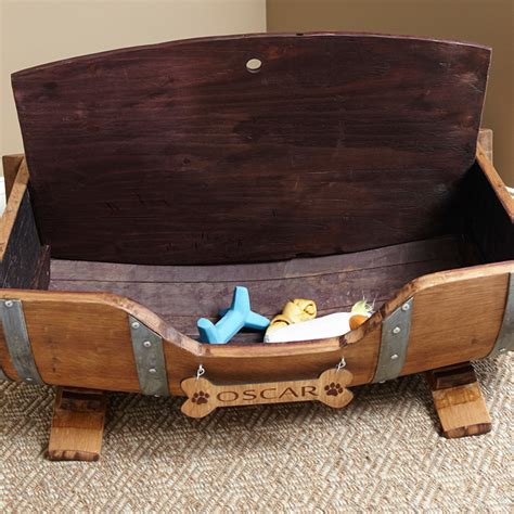 personalized beds wine barrel personalized dog bed pet beds