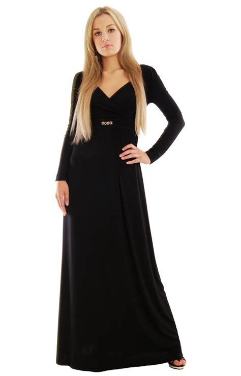 Black Maxi never miss a black maxi dress