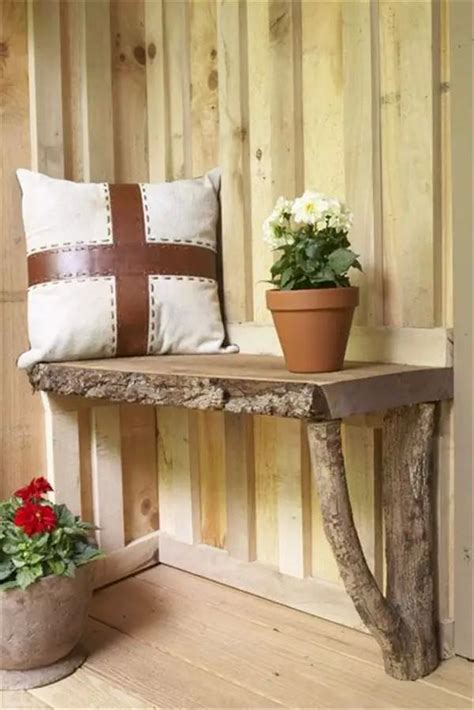 diy rustic decor ideas  logs home design