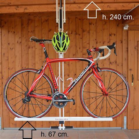 flat bike lift portabici da soffitto flat bike lift