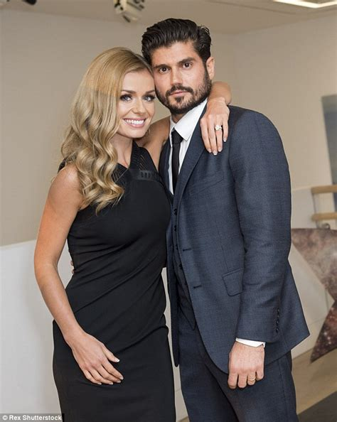 Katherine Jenkins And Husband Andrew Levitas Enjoy First   katherine jenkins is pregnant with her first child with