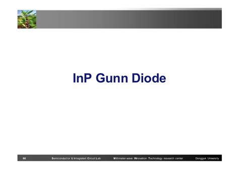 gunn diode conclusion inp gunn diode 28 images 20130723 research accomplishment ud 20130723 research