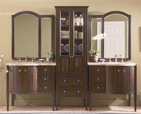 bathroom vanity and linen cabinet bathroom vanity with matching linen cabinet