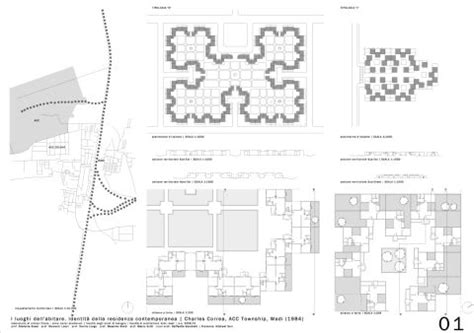 acc housing acc township by charles correa archenvy pinterest architecture