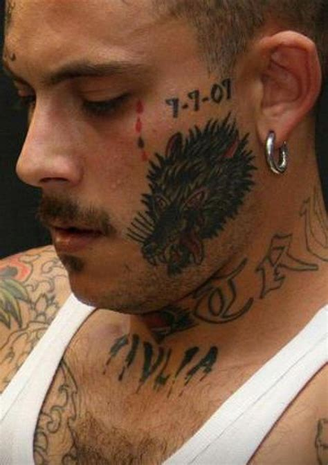 gang related tattoos 20 and real prison designs related