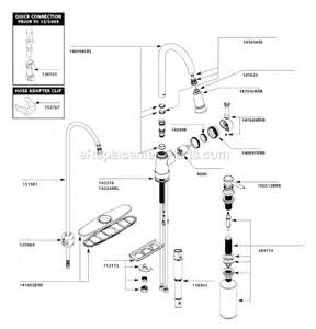 Repair Kit For Moen Kitchen Faucet Moen Ca87012brb Parts List And Diagram Ereplacementparts Com