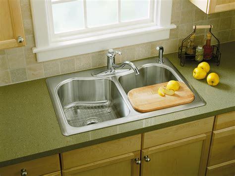 kohler staccato stainless steel kitchen sink standard plumbing supply product kohler k 3369 1 na