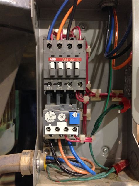 great three phase contactor connection images electrical