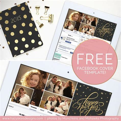 new years card templates for photographers free timeline cover template new year