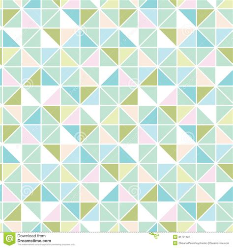 pattern triangle vector colorful pastel triangle texture seamless pattern royalty