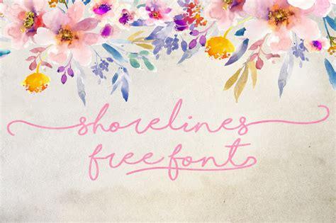 dafont shorelines dlolleys help shorelines free font