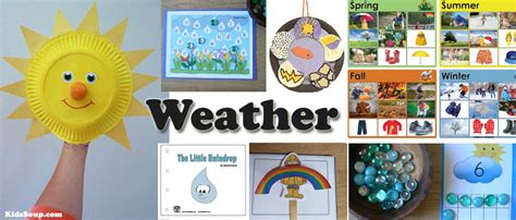 Preschool Activity Book K2 the weather and the four seasons books and activities
