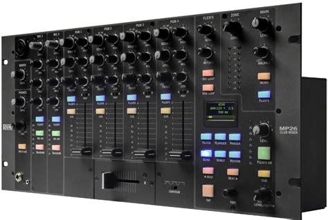 Rane Rack Mixer by Rane Pro Audio Mp26 Rack Mount Club Dj Mixer Compact With Usb Inputs Mp 26 New Ebay