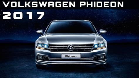 volkswagen phideon price 2017 volkswagen phideon review rendered price specs