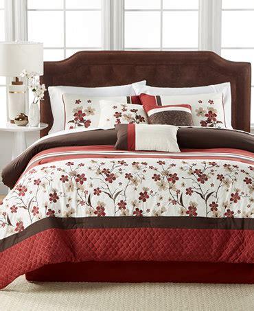 macy bedding comforter sets eden 7 pc comforter set only at macy s bed in a bag