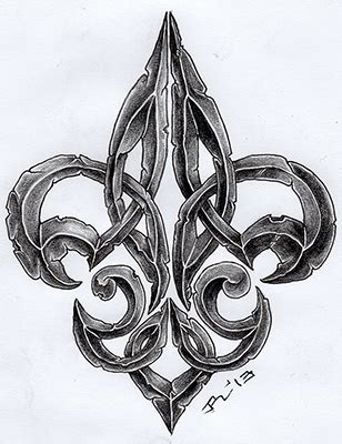 collection of 25 green fleur de lis collection of 25 green fleur de lis