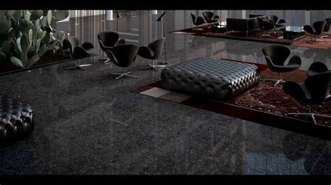 Black porcelain floor tile   YouTube