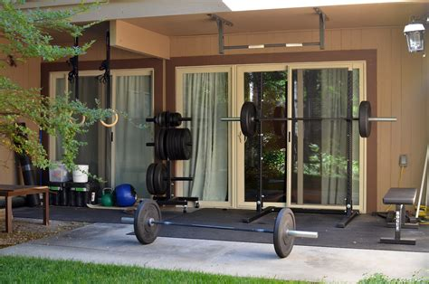 jes crossfit my home
