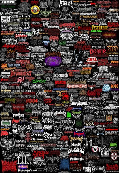 metal bands logos band logos rock band logos metal