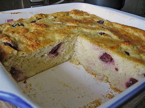 Kirsch Kuchen In Auflaufform Rezepte Zum Kochen