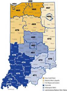 Indiana Zip Code Map by Indiana Bank Performance During The Current Financial Crisis