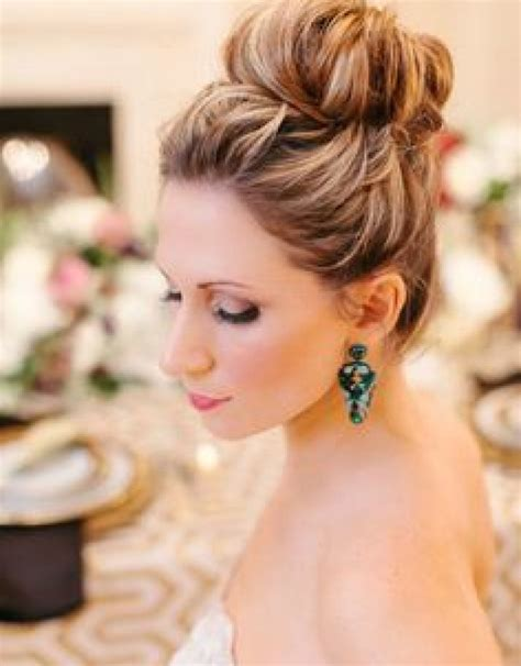 Hairstyle Accessories Bun by Wedding Updos Buns Hairstyles Top 25 Wedding Hairstyles