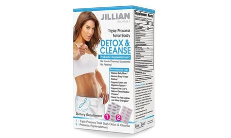 Jillian Detox And Shred Pills by Jillian Detox Kit Groupon Goods
