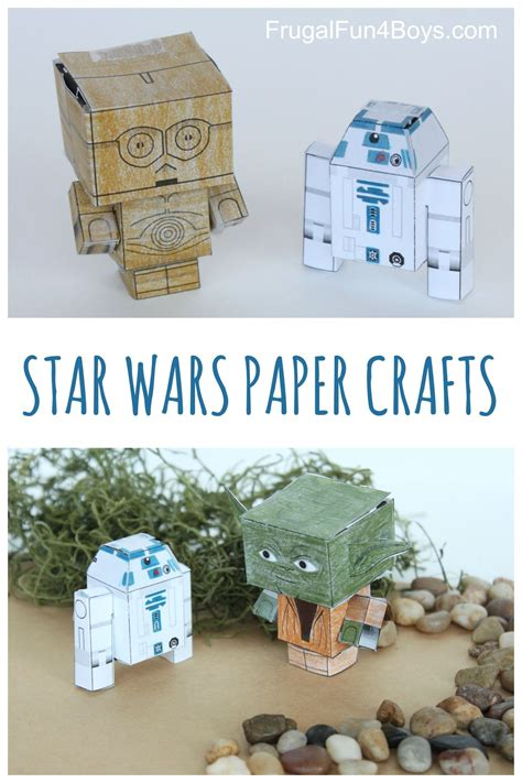 Paper Craft Wars - wars paper crafts to make finger puppets puppet