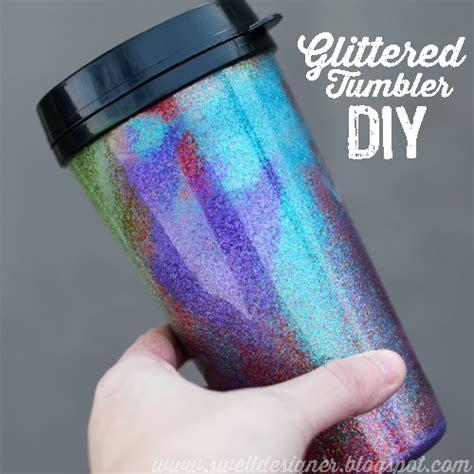 glitter craft projects glitter tumbler diy craft