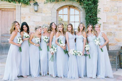 Color Baju Bridesmaid pemilihan warna baju bridesmaids