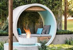 Upcycled Chairs Alison Douglas Recycled Concrete Pipes To Create A Dreamy