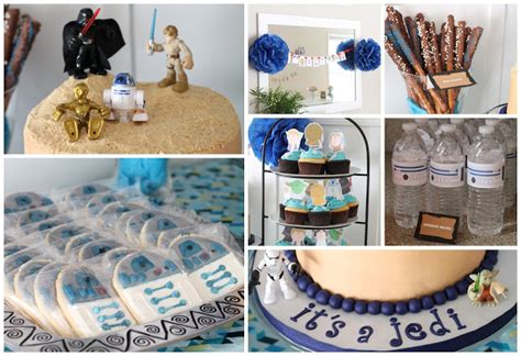 Star Wars Themed Baby Shower welcometothemousehouse.com