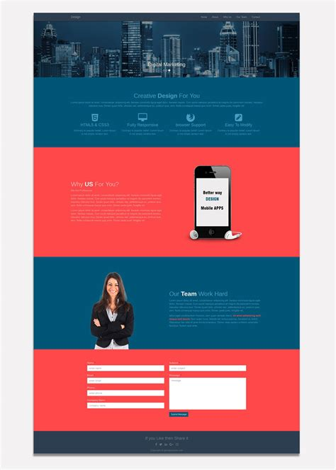 layout html free download website layout archives free website templates download
