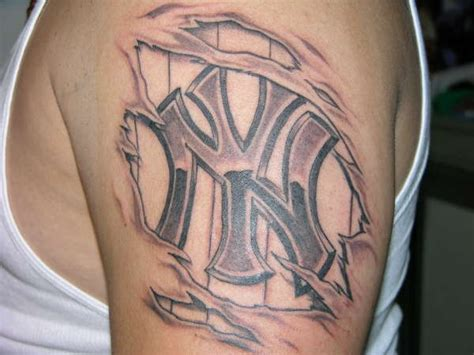 under the skin tattoo yankee the skin