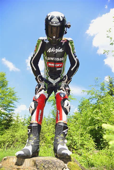 Motorrad Lederkombi Kawasaki by Gearbiker S Home Biker Unterwegs Mit Kawasaki Lederkombi 8