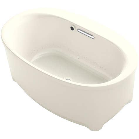 kohler underscore bathtub kohler underscore oval freestanding air bath