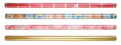 Plastik Opp Fancy fancy rolling wrap bopp metallic wm a001 wm