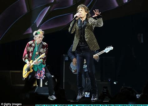 Mick Jagger Abandons Tour To Be With Sick by Mick Jagger Is Delighted To Be Back On Stage As The