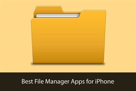 file manager best best iphone file manager apps organize your files and
