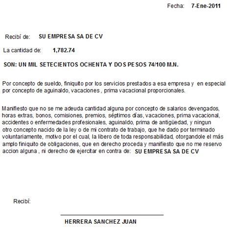carta de finiquito nomina otros reportes sait