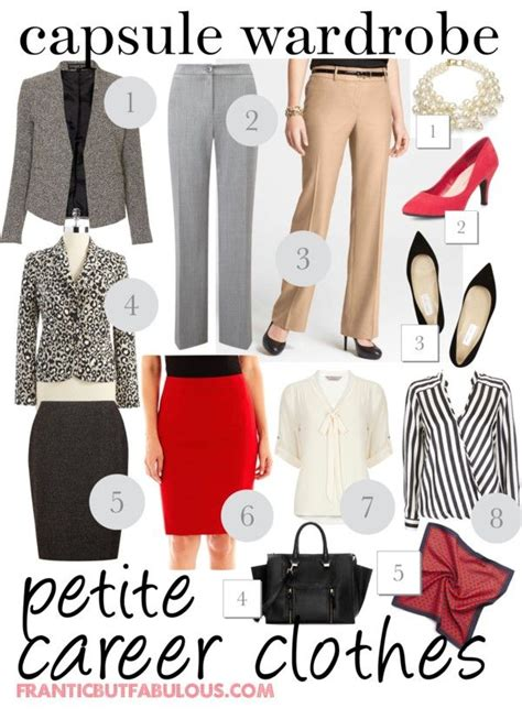 capsule wardrobe career clothes frantic but