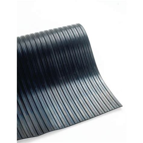 10 mm ribbed rubber matting 5mm broad ribbed matting 1200mm x 10m flooring matting