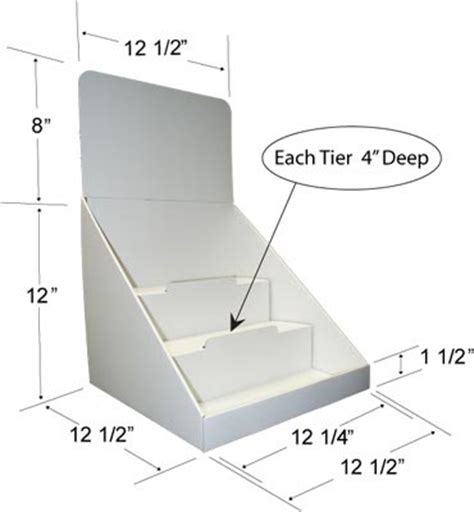pop display templates get countertop shipper display boxes from instabox canada