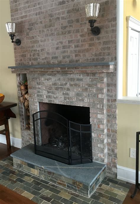 soapstone fireplace hearth  mantle www