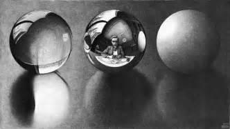 three s three spheres ii escher m c wikiart org