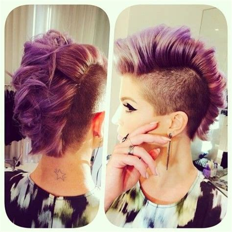 old lady mohawk 55 best fashion hairstyles shaved sides images on pinterest